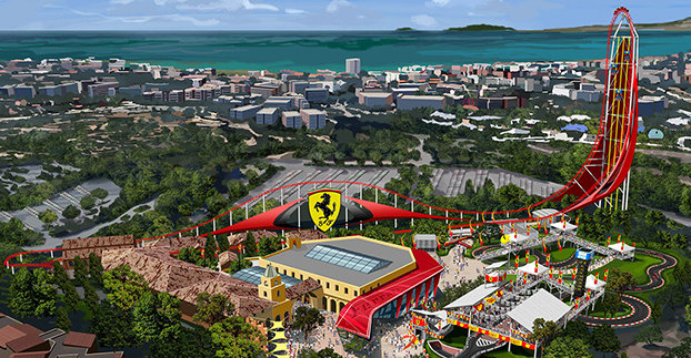 Tarragona prepares to open the largest roller-coaster in Europe