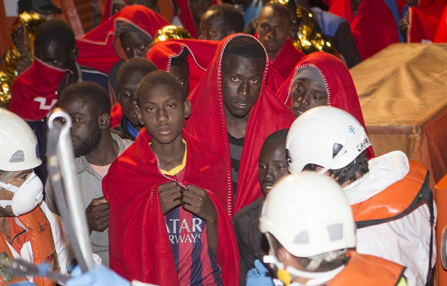 8-year-old boy among 82 illegal immigrants rescued off Motril