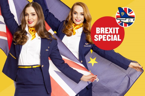 Ryanair offers cheap flights to the UK to Vote Remain