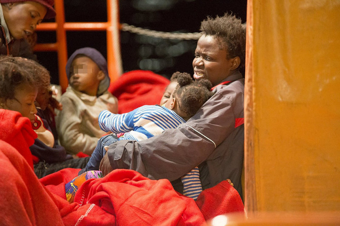 4 children among 38 immigrants intercepted crossing the Mediterranean