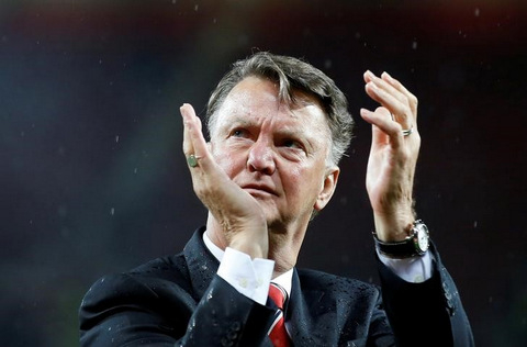 Man United confirm departure of Van Gaal