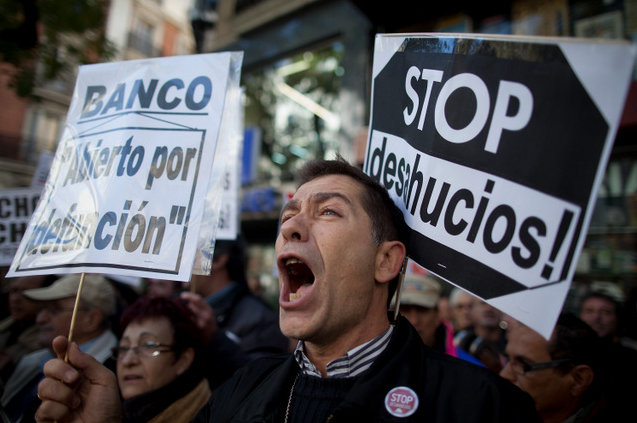 Mortgage foreclosure figures falling in Spain