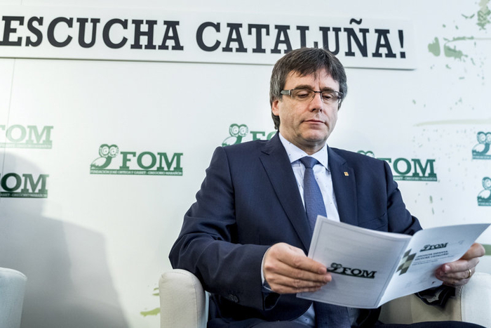 Catalan president calls motion of confidence