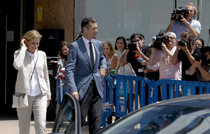 Charges maintained against Princess Cristina at the end of the Noos trial