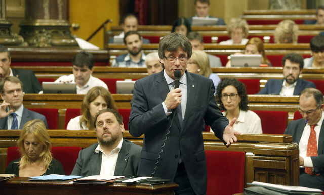 President of Catalunya calls for acceleration of Independence process