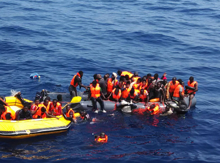 Almost 3,000 illegal immigrants picked up so far in 2016 by Spanish maritime rescue
