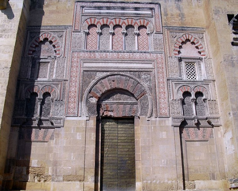 Restoration begins on the Puerta de San Jose at the Mosque-Cathedral of Cordoba