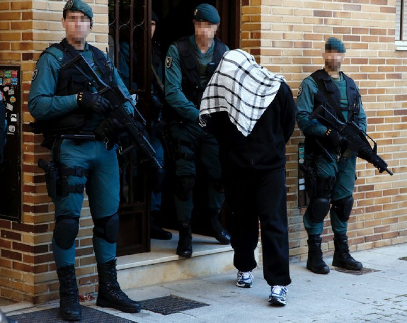 Jihadist terrorism investigations outnumber those related to ETA in Spain