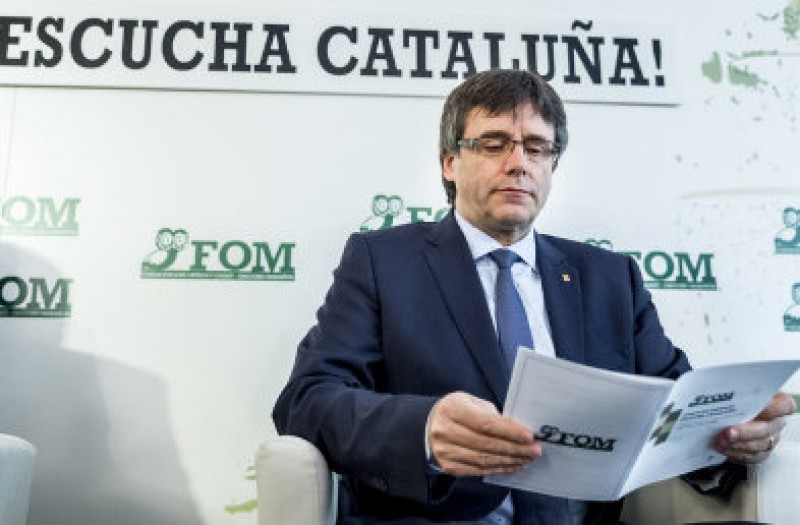 Catalan president to attend the Diada demonstration in Girona