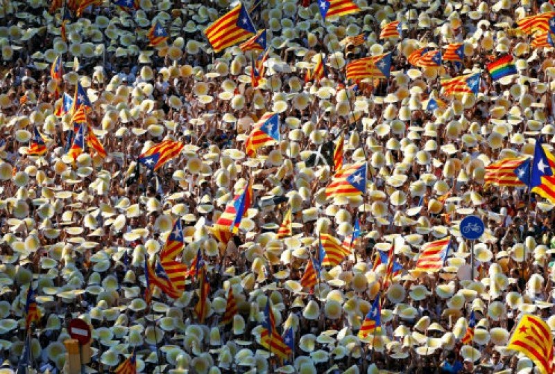 Royal portrait burners distract attention from Catalan independence process