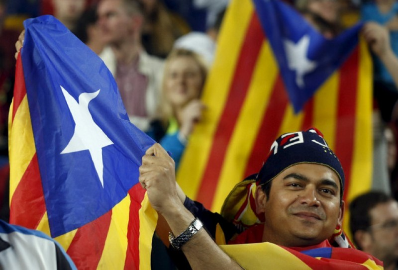 FC Barcelona in trouble again over Catalan flags
