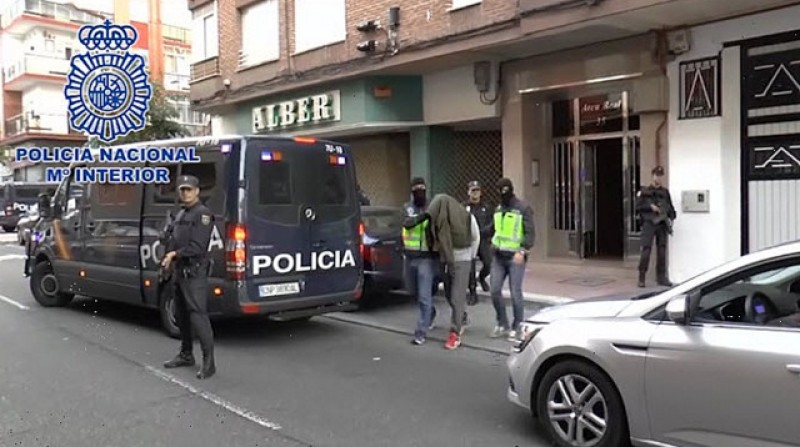 Two Moroccan nationals arrested during anti-yihadist operation in Murcia and Valladolid