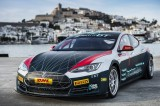 Ibiza hosts launch of the Tesla Electric GT zero emissions race
