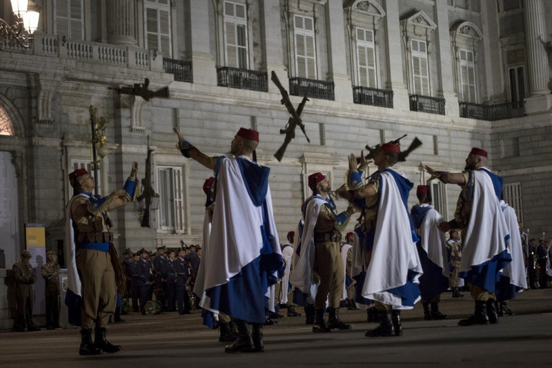 Regional separatist politicians boycott armed forces day parade in Madrid