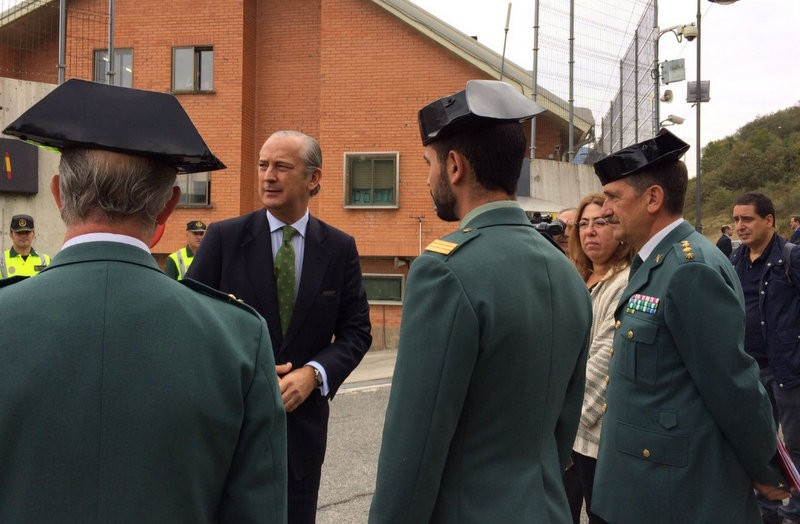 Two Guardia Civil officers attacked in Navarra