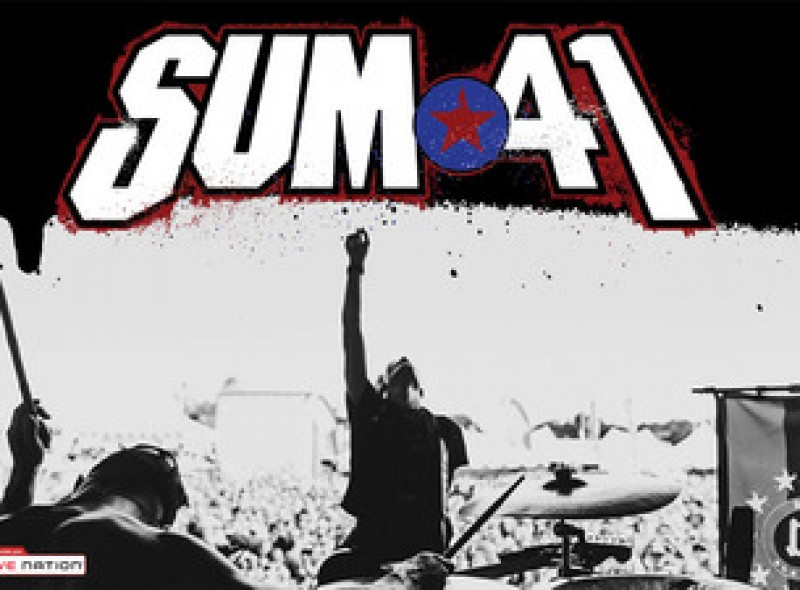 Sum 41 play three dates in Spain, January 2017