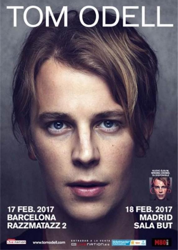17th and 18th February, Tom Odell live in Spain