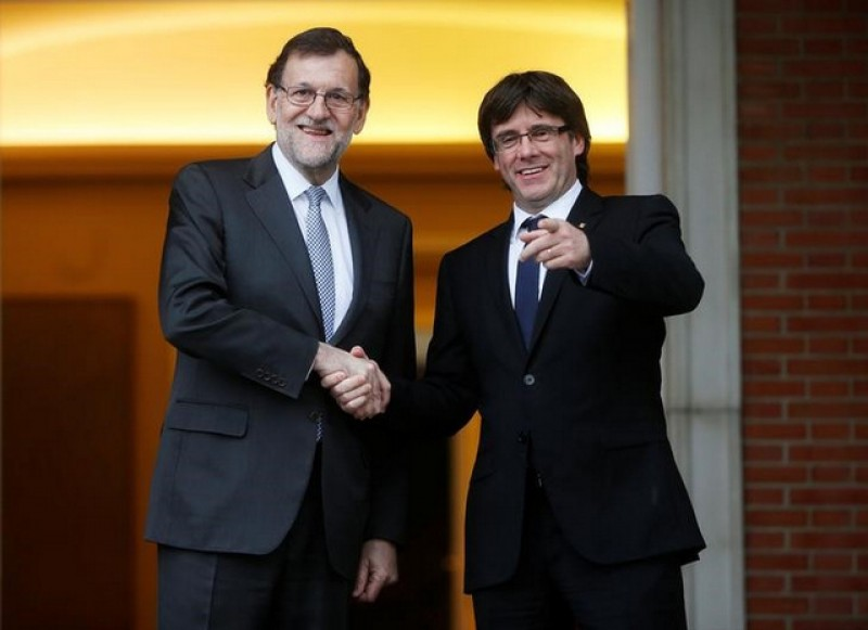 Rajoy not allowed to forget Catalan independence referendum