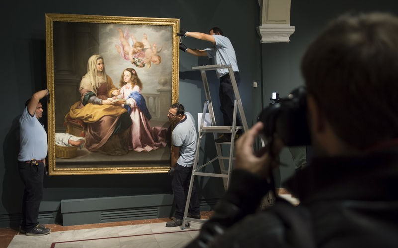 Until 28th February, Velazquez and Murillo exhibition in Sevilla