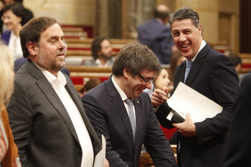 Catalan president reiterates independence referendum plans