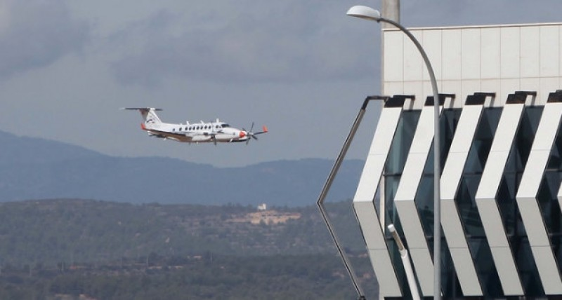 Castellon airport costs the Valencia government another 4.5 million euros