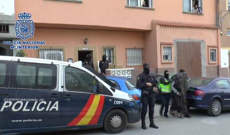 Four arrested for Jihadist recruitment in Ceuta