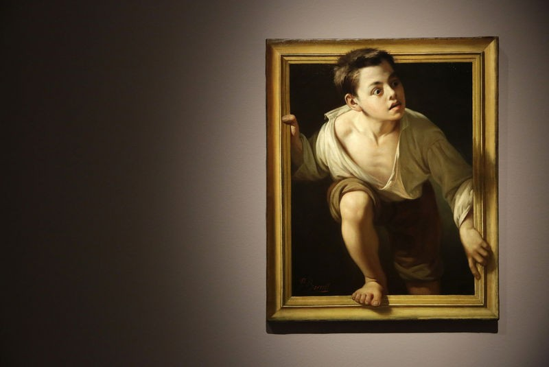 Until 19th February, Metapintura art exhibition at the Prado in Madrid