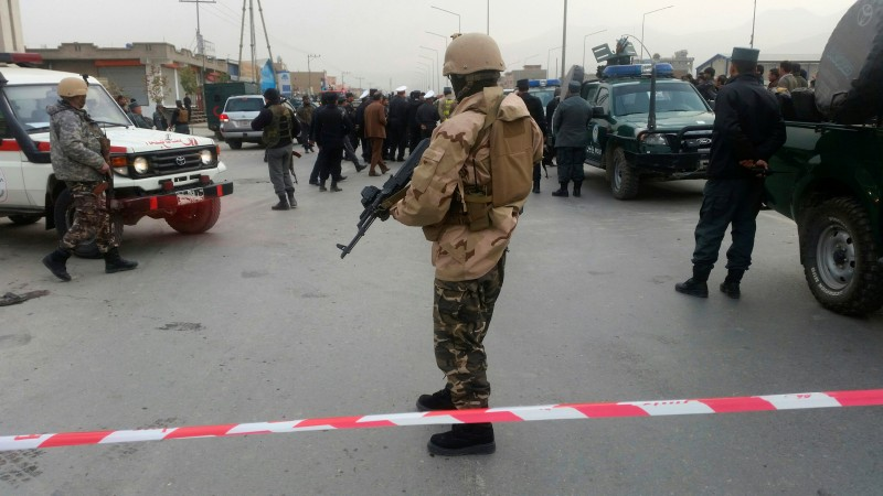 Suicide bomber attacks worshippers at Shia mosque in Kabul