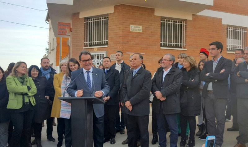 2014 Catalan independence poll commemorated in dead-end street name