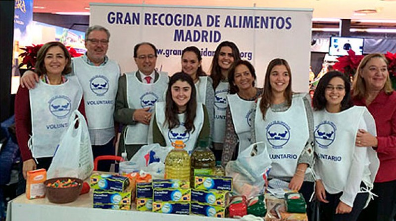 Spain begins annual Christmas food collection
