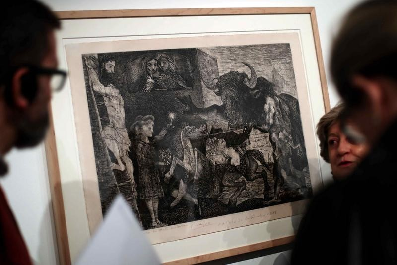Until 19th March, Picasso and mythology exhibition in Barcelona