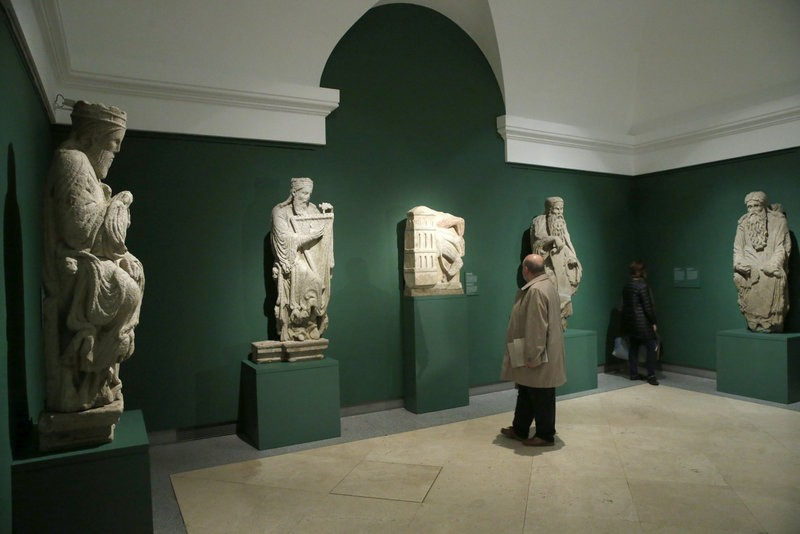 Until 26th March, 12th century sculpture exhibition at the Prado in Madrid