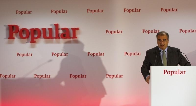 Spain's Banco Popular to replace chairman after shareholder revolt