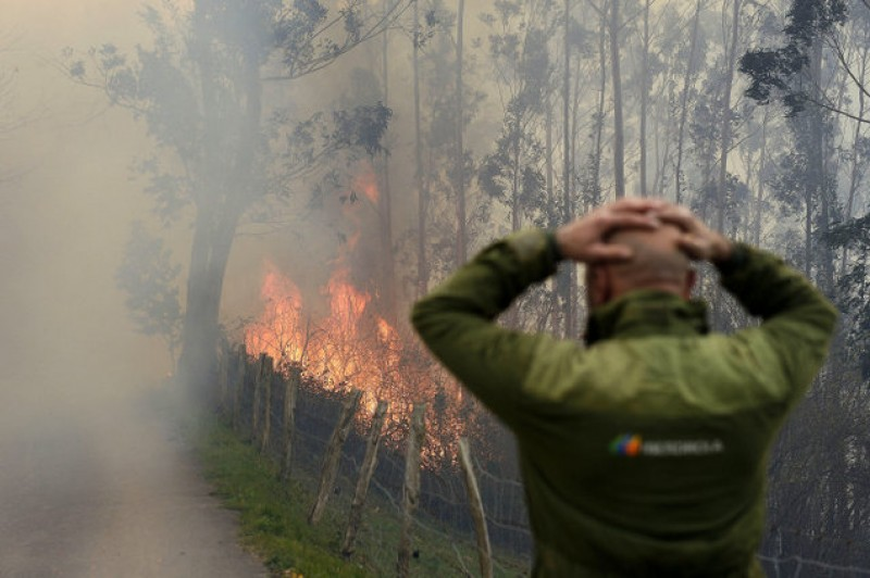 Guardia Civil pyromaniac confesses to setting ten fires in Madrid