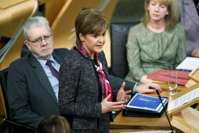 Scottish First Minister warns the UK not to disregard Scotland in Brexit negotiations