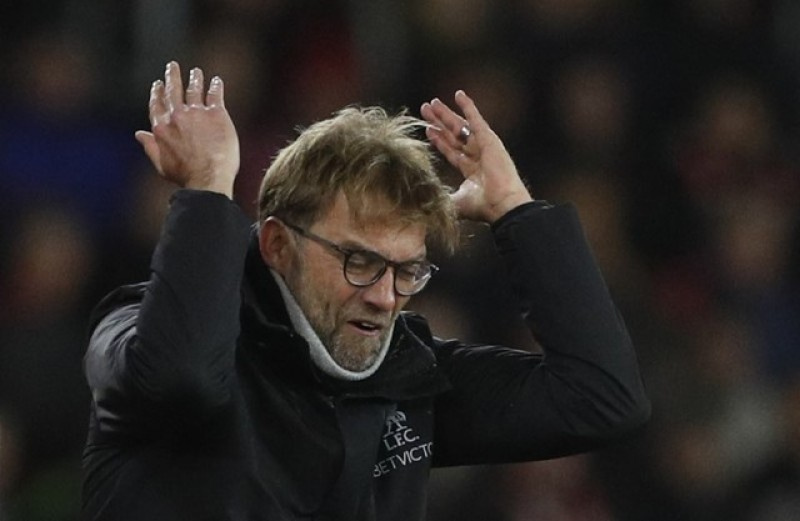 Klopp unable to explain Liverpool lethargy in Saints loss