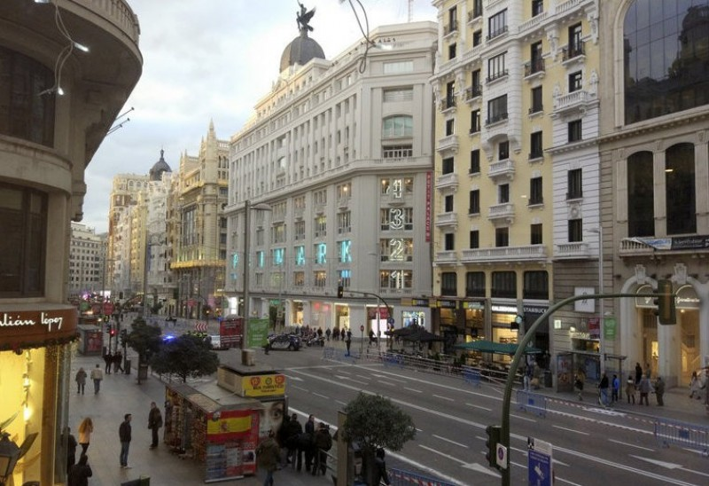 Madrid Town Hall moves forward with Gran Via pedestrianization plans