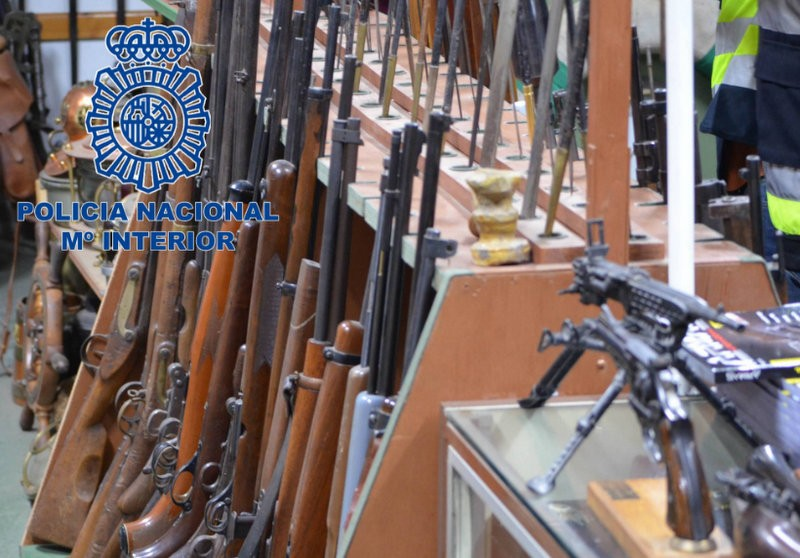 8,000 black market firearms confiscated in Northern Spain