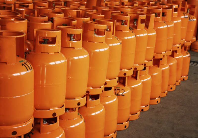 Butane gas bottle price goes up on Tuesday
