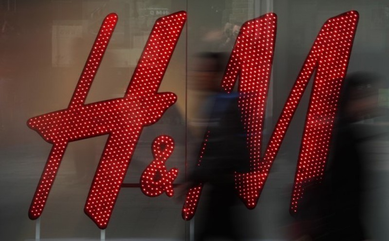 Retailer H&M monthly sales growth 6 percent