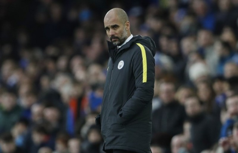 Title is beyond Man City after Everton loss, says Guardiola