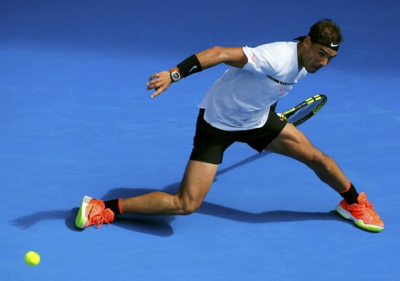 Ruthless Nadal mangles Mayer, avoiding repeat first round exit