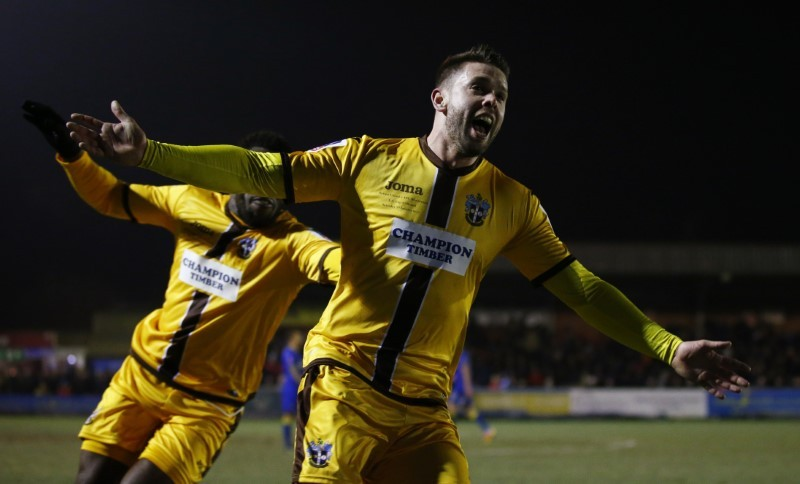 Lincoln and Sutton spring FA Cup surprises, Palace win