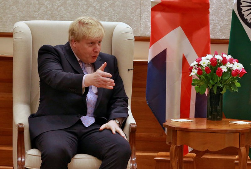 Johnson raises hackles over WW2 punishment beatings jibe at Hollande