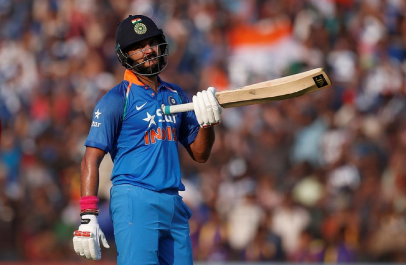 India lead 381-6 against England in Second One Day International