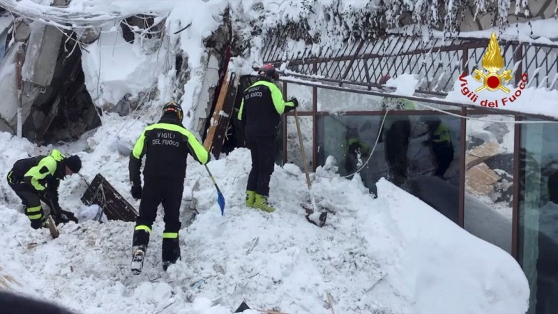 Miraculous rescue two days after Italy avalanche