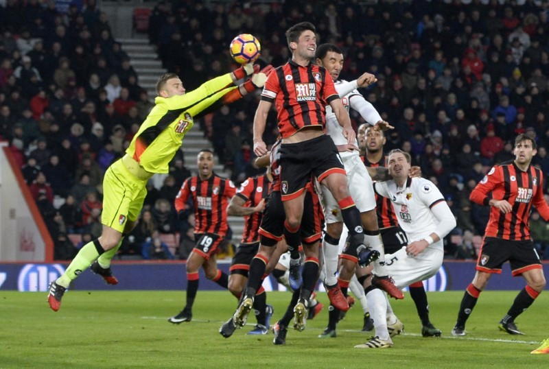 Bournemouth squishy set piece centre has lucky escape against Watford