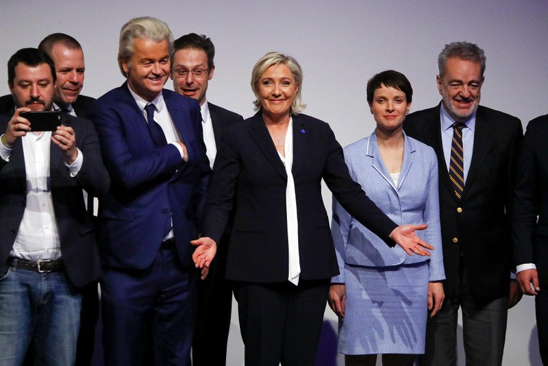 European far right leaders hope Brexit will start domino effect