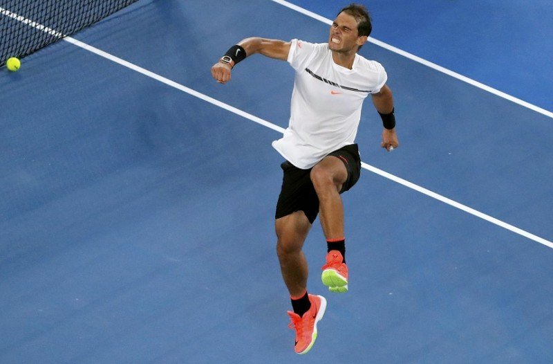 Nadal thrilled by return to grand slam quarter-finals