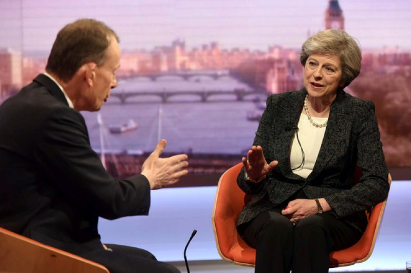 May to defend free trade and Iran deal in talks with Trump
